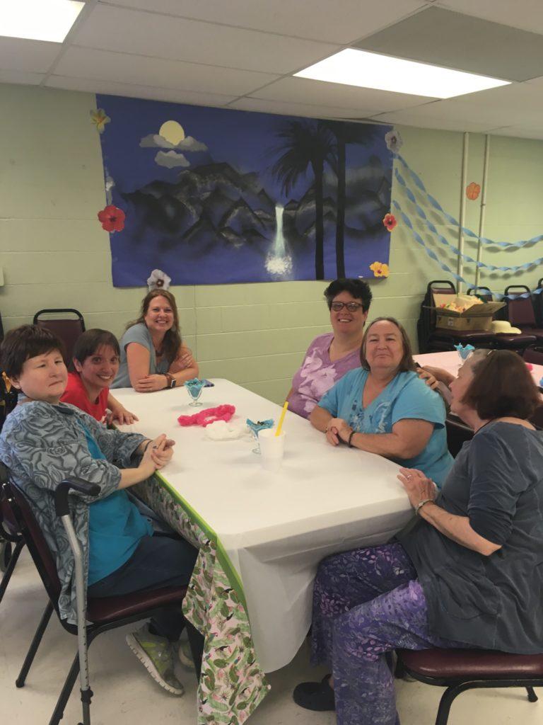 Mrs. Toney, Donna, Karen, Debbie, Jeannie, and Debbie.